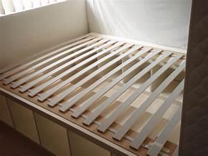 Ikea Hacks Podest : expedit re purposed as bed frame for maximum storage wavez group blog ~ Watch28wear.com Haus und Dekorationen