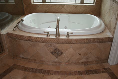 Tile Tub Surround by Bathrooms