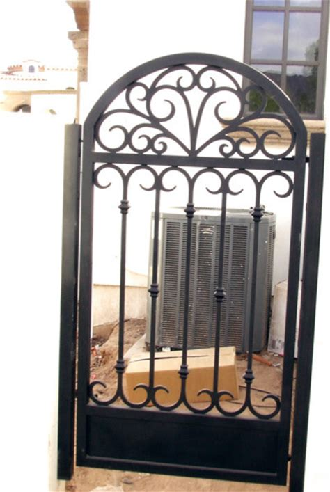 walkway and garden gates