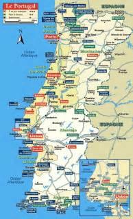 Portugal Tourist Map