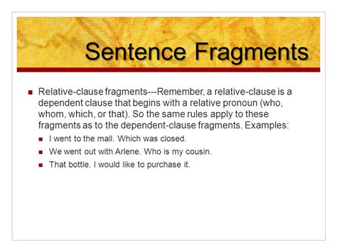 100+ [ Sentence Writing Sentence Fragments Sentence ]  Lesson 2 1 Objectives To Identify