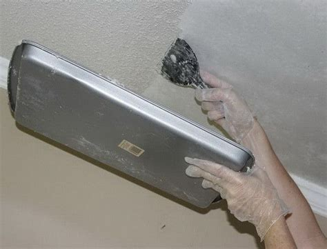 scraping popcorn ceilings that been painted how to remove popcorn texture from a ceiling that has been