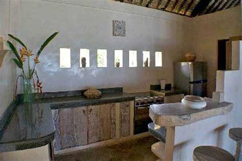 balinese kitchen design beachfrontvillasbali kembang desa villas villa 1454