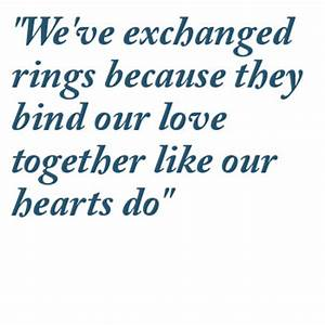 wedding ring quotes image quotes at relatablycom With wedding ring exchange quotes