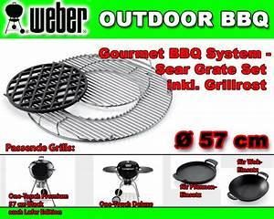 Weber Sear Grate : weber 7420 luxus rost zu gourmet bbq system sear grate set steak grillrost 57cm ~ Frokenaadalensverden.com Haus und Dekorationen
