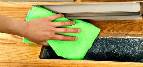 seal floor vents  improve indoor air quality