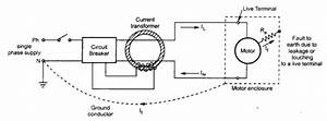 Earth Leakage Relay Working Principle