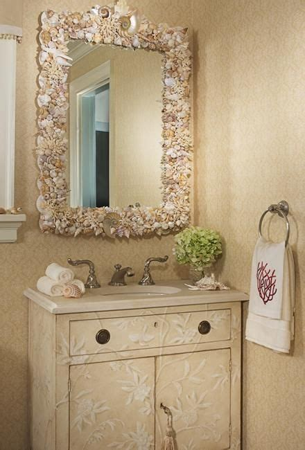 Decorating Bathroom Mirrors Ideas by Best 25 Sea Shell Mirrors Ideas On Shell