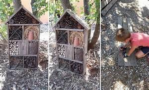 Fabriquer Un Hotel A Insecte : construire maison insecte ventana blog ~ Melissatoandfro.com Idées de Décoration