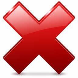 Sign Error Icon | Phuzion Iconset | Kyo-Tux