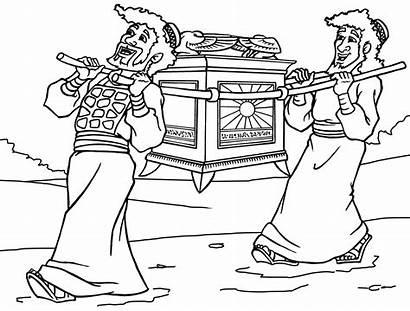Coloring Testamento Antico Colorare Ark Arca Alleanza
