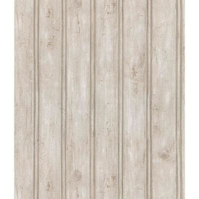 Brewster 56 Sq Ft Beadboard Wallpaper14541389 The