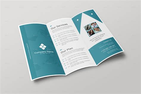 Templates For Tri Fold Brochures by Corporate Tri Fold Brochure By Arpcreation Graphicriver