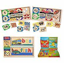 amazoncom melissa and doug spell With melissa and doug see and spell replacement letters