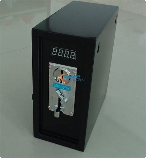 coin operated timer box timer power supply