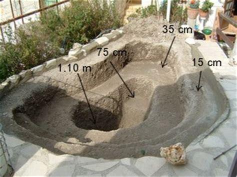construire un bassin de jardin in the garden