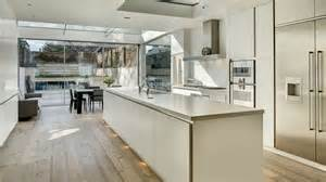Kitchen Color Combination Ideas Townhouse With Modern Extension By Dos Architects