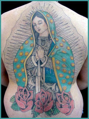 virgen de guadalupe tatto tatuajes de la virgen de