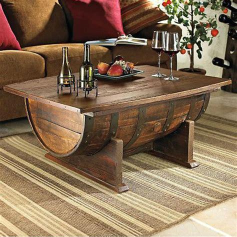 winewhiskey barrel table planstips woodworking talk