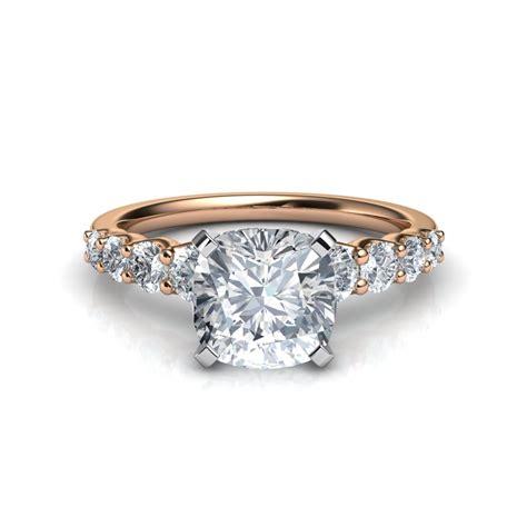 Graduated Side Stone Cushion Cut Diamond Engagement Ring. Unpolished Diamond Engagement Rings. Princess Cut Diamond Rings. Colored Stone Rings. One Tree Hill Brooke Wedding Rings. Shape Engagement Engagement Rings. Christmas Rings. Meaning Rings. 9ct Gold Rings