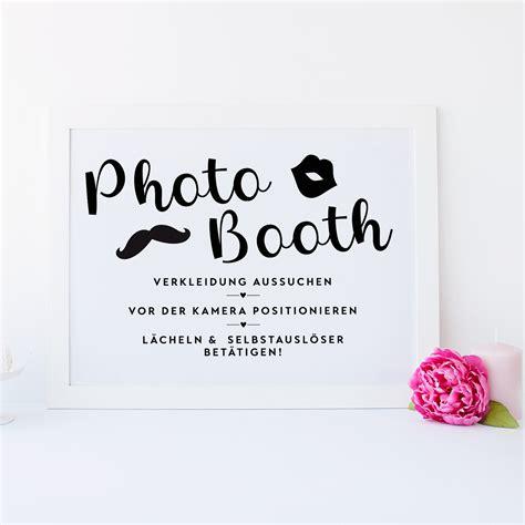 photo booth poster design grusskarten