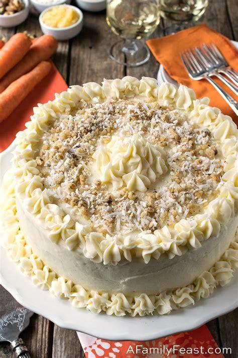 jacks carrot cake  family feast