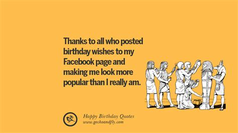 funny happy birthday quotes  wishes  facebook
