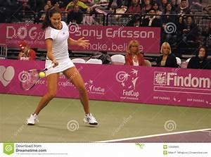 Alisa Kleybanova At The 2010 BNP Paribas Open Editorial ...