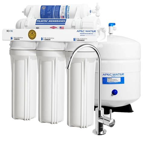 under sink reverse osmosis apec water systems ultimate premium quality wqa certified