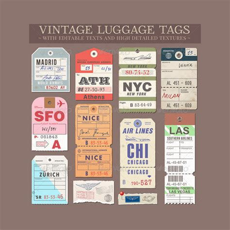 29 Luggage Tag Templates For Free Sle Templates 29 Luggage Tag Templates For Free Sle Templates