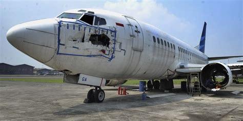 Jual Aborsi Bekasi Harga Bangkai Pesawat Garuda Indonesia Setara Nissan X Trail Baru Merdeka Com
