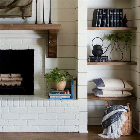 farmhouse fireplace 222 best images about mantels fireplaces on Modern