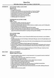cover letter data entry clerk no experience - sample data entry clerk resume good cover letter samples