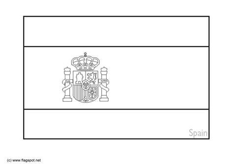 Kleurplaat Spaanse Vlag by Kleurplaat Spanje 2 Afb 6385 Images