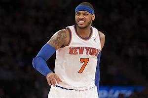 Anthony swears at fan late in Knicks' 5th straight loss ...  Carmelo