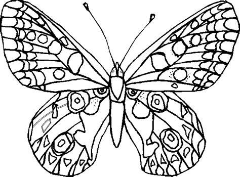 farfalle  disegni  bambini da colorare