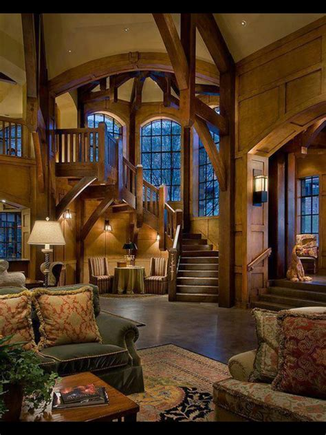 rustic home decorating ideas  pinterest pin