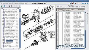 Daewoo Forklift Electronic Spare Parts Catalogue Contains
