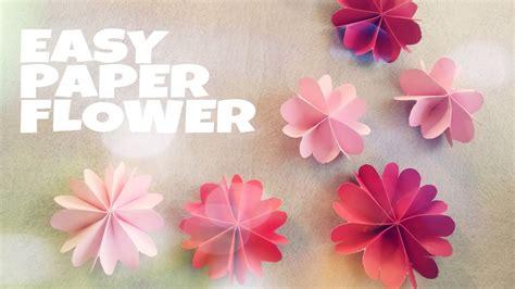 diy trang tri phong ngu gap hoa bang giay xinh xan youtube