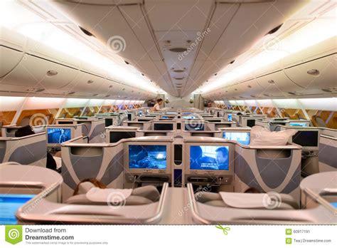 Airbus A380 Interni - interno business class di airbus a380 degli emirati