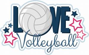 Love, Volleyball, Svg, Scrapbook, File, Volleyball, Svg, Files