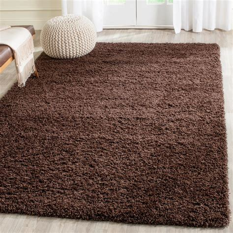 Brown Shag Area Rug by Safavieh Laguna Shag Brown 4 Ft X 6 Ft Area Rug Sgl303f