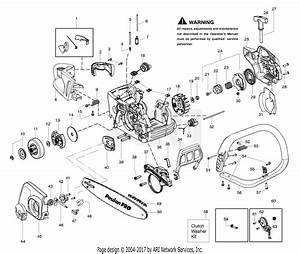 Poulan Sm4218avx Gas Saw Parts Diagram For Handle  Chassis