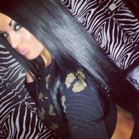How To Shiny Black Hair by Shiny Black Hair Hairstyles How To