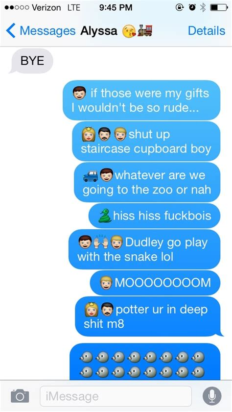 harry potter story  texts popsugar tech photo