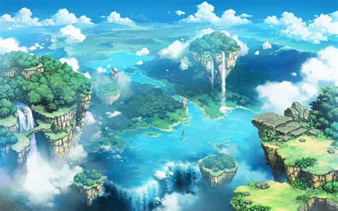 Wallpaper Anime - anime nature wallpaper 77 images