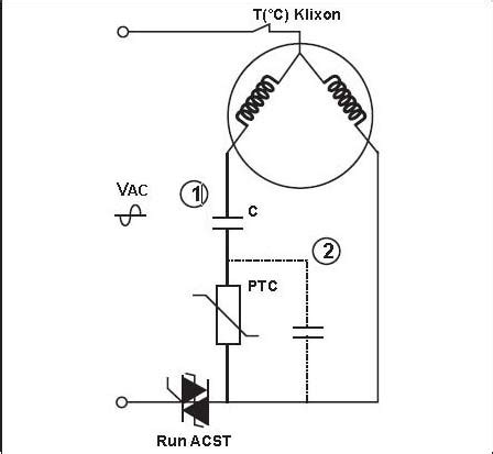 Compressor Wiring Diagram For Capacitor by How To Wire A Single Phase Motor With Capacitor