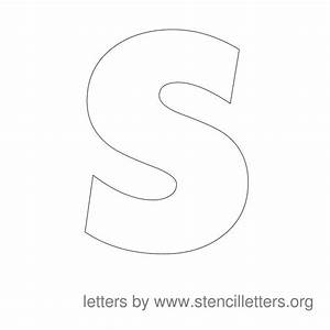 large stencil letters stencil letters org With free large letter stencils
