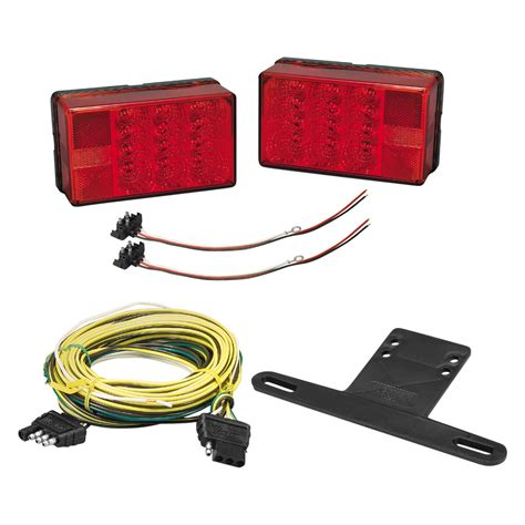 trailer light kits bargman 174 31 407560 4x6 low profile led trailer