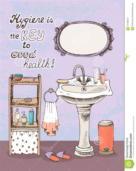 Hygiene Is A Key To Good Health Stock Vector  Image 41198579